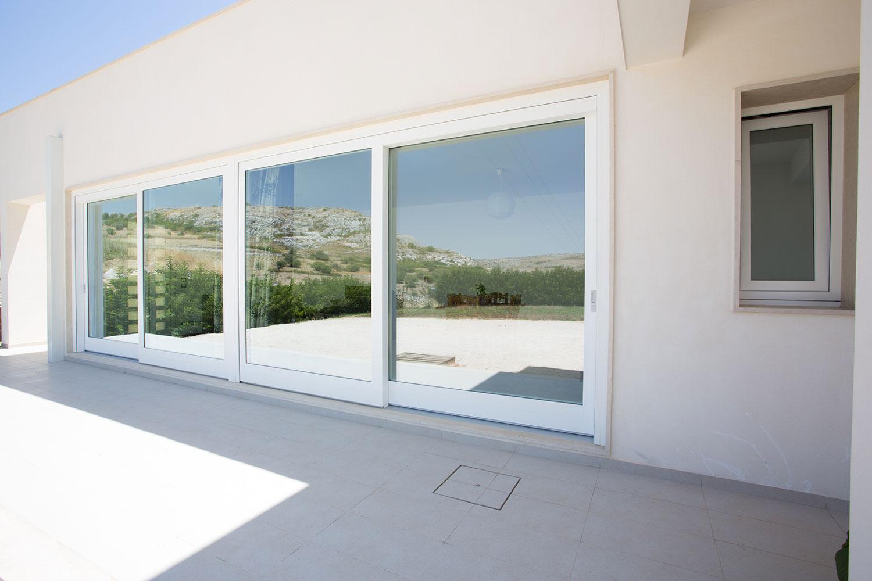 Infisso alzante scorrevole in legno alluminio - Porta finestra scorrevole prezzi ...