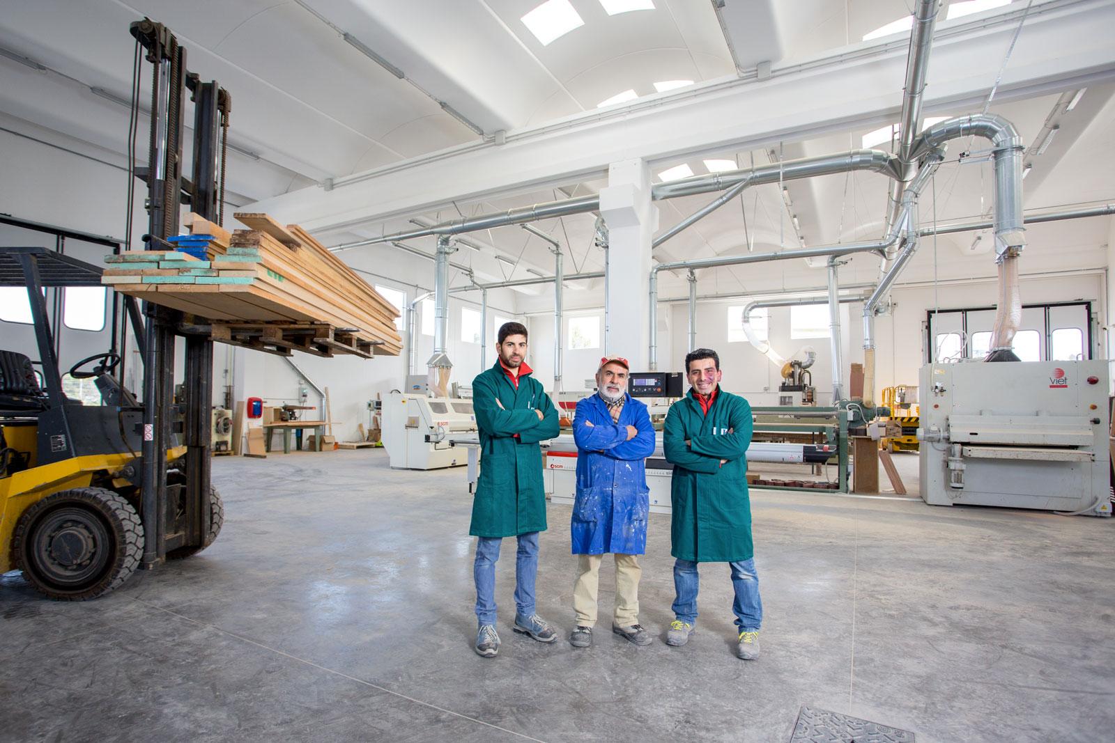 Il nuovo sito della Falegnameria Di Lorenzo è on line